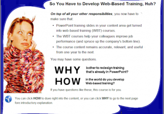Online Training for Content Experts